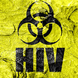 Aids virus concept background Royalty Free Stock Photos