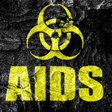Aids virus concept background Stock Photography