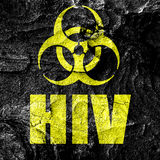 Aids virus concept background Royalty Free Stock Photo