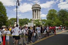AIDS WALK 2010 Royalty Free Stock Photos