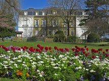 Aiete Palast, hervorragend, Donostia. Stockbild