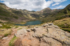 Aigà ¼ estortes, Andorra Stock Afbeeldingen
