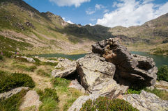 Aigà ¼ estortes, Andorra Zdjęcia Royalty Free