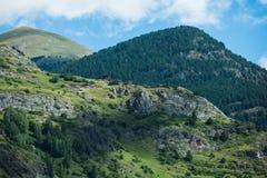 Aigà ¼ estortes, Andorra Obraz Stock