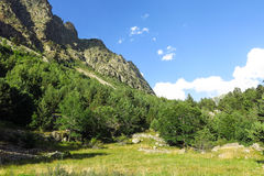 Aigüestortes National Park in the Catalan Pyrenees, Spain Stock Photography
