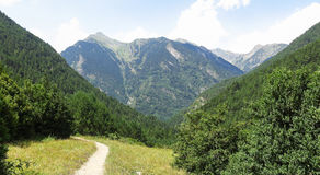 Aigüestortes National Park in the Catalan Pyrenees, Spain Royalty Free Stock Photos