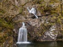 AIG siklawa, Achnacarry, Szkocja Obrazy Royalty Free