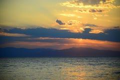 Aigina海岛旅行目的地 图库摄影