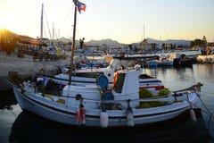 Aigina海岛旅行目的地 免版税库存图片