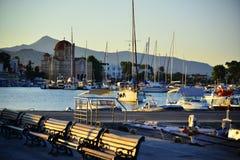 Aigina海岛旅行目的地 免版税库存照片