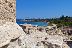 Aigina antiguo en Grecia Imagen de archivo libre de regalías