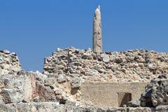 Aigina antiguo en Grecia Fotos de archivo
