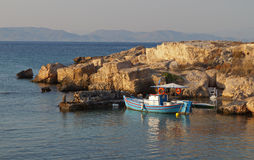 Aigina island in Greece Stock Image