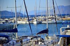 Aigina wyspy podróży miejsce przeznaczenia Fotografia Stock