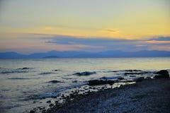 Aigina wyspy podróży miejsce przeznaczenia Obraz Stock
