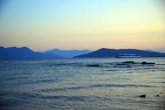 Aigina wyspy podróży miejsce przeznaczenia Obrazy Royalty Free