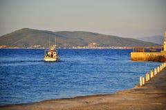 Aigina wyspy podróży miejsce przeznaczenia Zdjęcia Stock