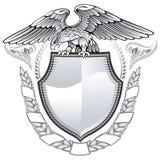 Aigle à ailes Image libre de droits