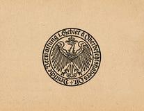 Aigle allemand ww2 du Reich d'Ober Ost Image libre de droits