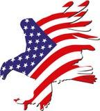Aigle américain Photo libre de droits