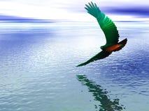 Aigle au néon Photographie stock libre de droits