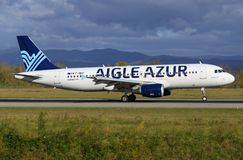Aigle Azur Stock Photo
