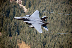 Aigle de grève de F-15E Photographie stock libre de droits