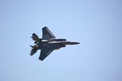 Aigle de la grève F-15 image stock