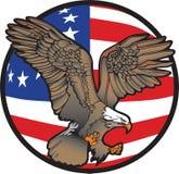 Aigle de liberté illustration libre de droits