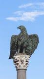 Aigle en bronze Image libre de droits