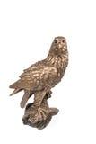Aigle en bronze terrible images libres de droits
