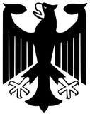 Aigle fédéral de l'Allemagne Photo libre de droits