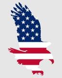 Aigle gras américain illustration libre de droits