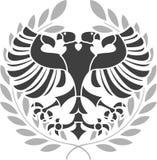 Aigle héraldique Photographie stock libre de droits