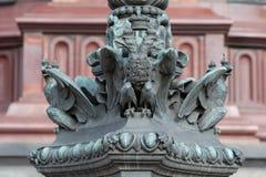 Aigle russe d'état Image libre de droits