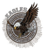 aigles Photos stock