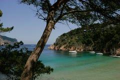 Aigua Blava, Begur, Costa Brava, Royalty Free Stock Photo