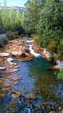 Aigua de Valls rzeka Obraz Stock