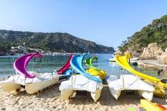 Aiguablava beach in Costa Brava, Catalonia, Spain Stock Photo