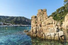 Aiguablava beach in Costa Brava, Catalonia, Spain Stock Image