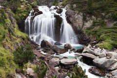 Aigualluts vattenfall Arkivfoton