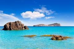 Aiguas Blanques Agua blanca Ibiza beach Stock Photography