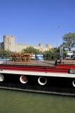 Aigues-Mortes小游艇船坞  免版税库存图片