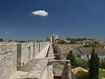 Aigues-Mortes. Is a commune in the Gard department in southern France Stock Image