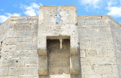 Aigues-Mortes垒  免版税图库摄影