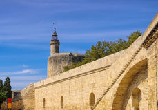 Aigues Mortes in Camargue. France Royalty Free Stock Image