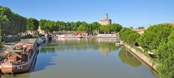 Aigues-Mortes,Camargue,France Royalty Free Stock Photography
