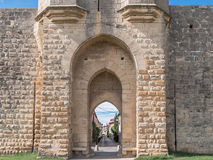Aigues-Mortes Fortifications Royalty Free Stock Photo