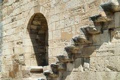 Aigues-Mortes (France): walls Royalty Free Stock Images