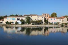 Aigues-Mortes, Francia del sud Fotografia Stock